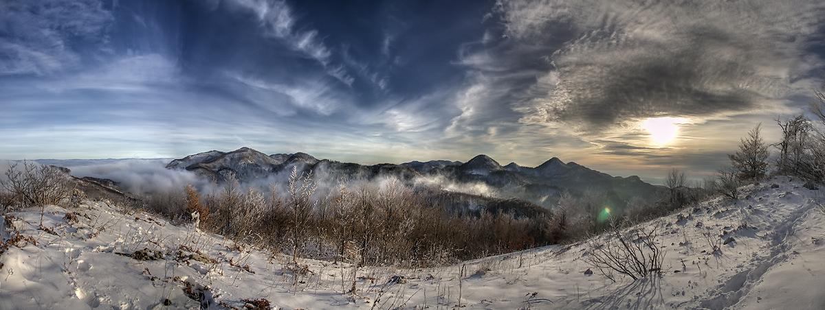 Trnovski Gozd From Mojski Vrh