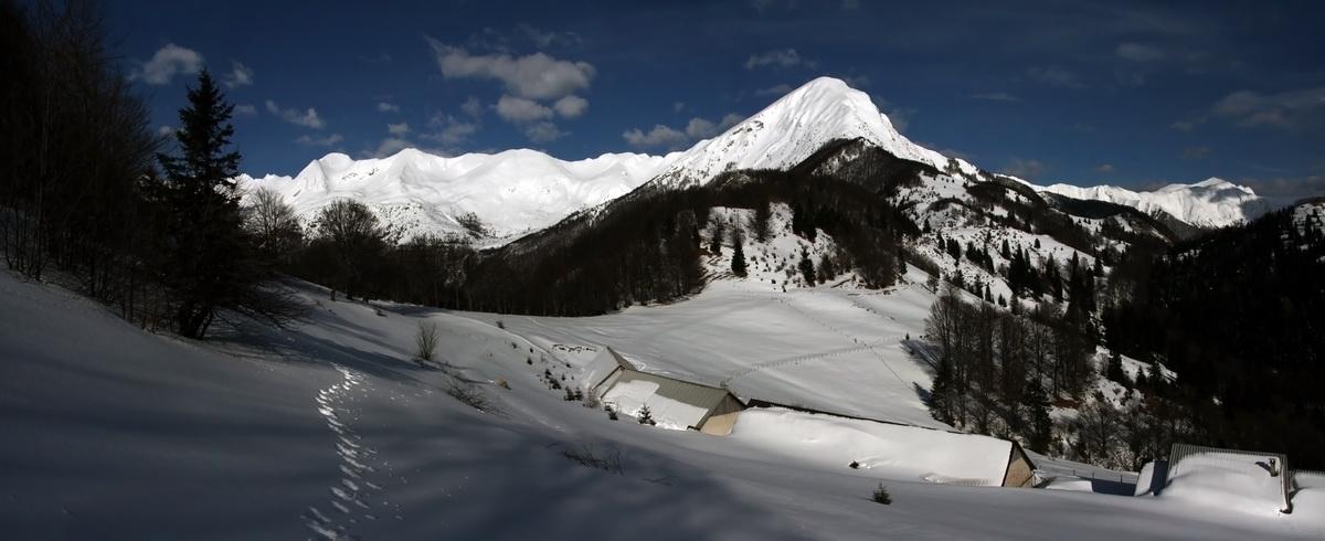 Planina Kuk - View On Krnica