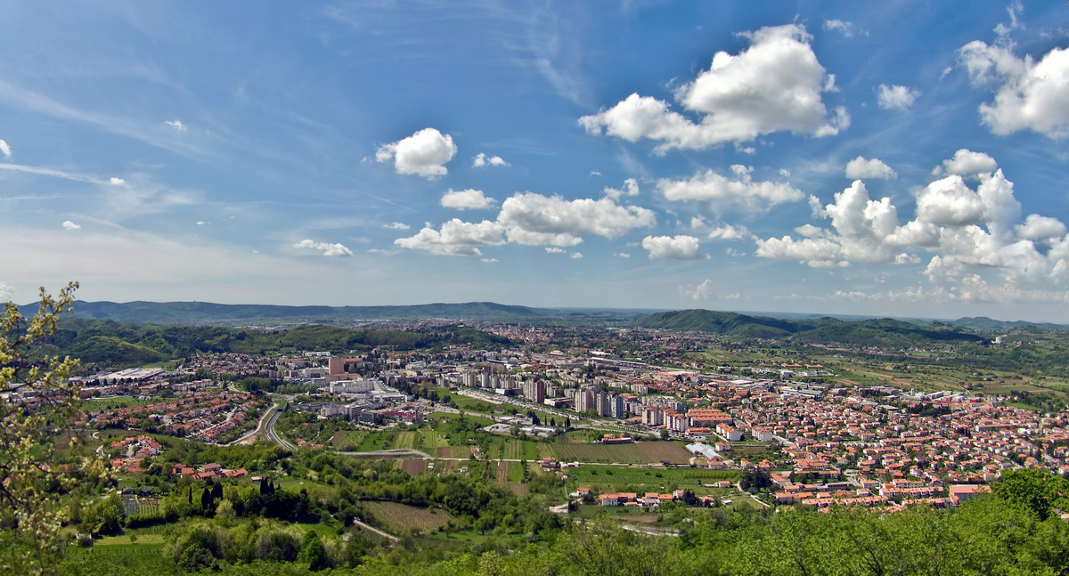 View From Kekec On Nova Gorica