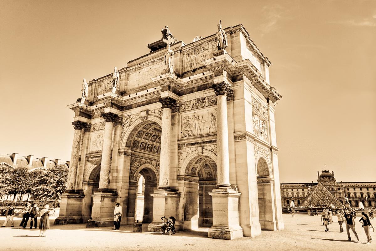 Paris - L'Arc du Carrousel