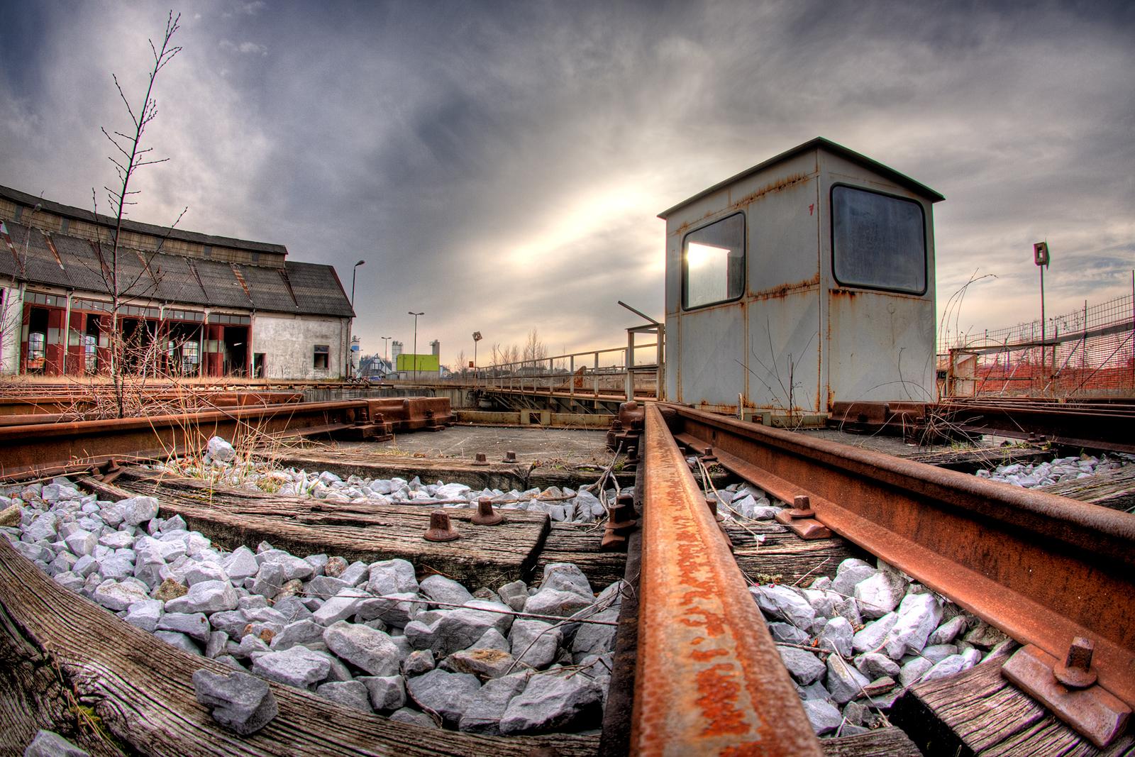 Nova Gorica Rail Yard