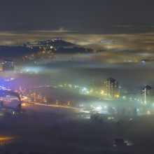 Nova Gorica Gorizia fog mist